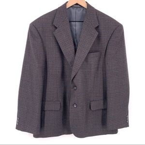 Pendleton Wool Blazer Houndstooth